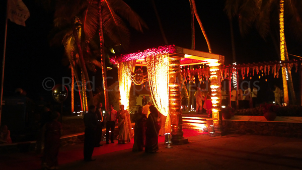 Kovalam North Indian Wedding