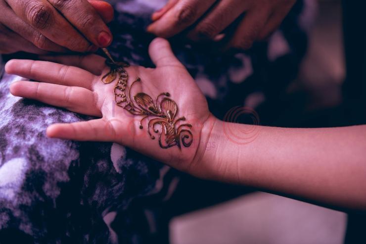 RED CARPET WEDDINGS IYER WEDDING Mehndi for the bride_destination wedding planner kerala
