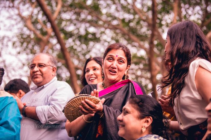 cheering guests iyer destination wedding
