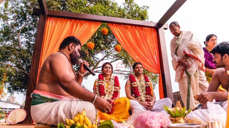 RED CARPET WEDDINGS IYER NAIR WEDDING STAGE_destination wedding planner kerala